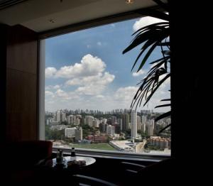 São Paulo - View from Hilton Morumbi