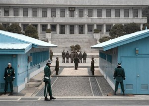 Joint Security Area - North Korean Visitor Group