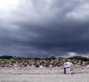Hohwacht - Windstorm approaching