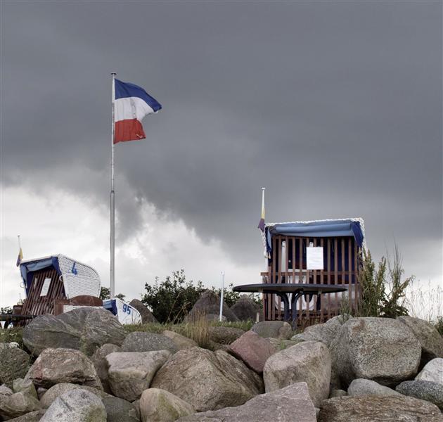 Hohwacht - Flag of Schleswig-Holstein