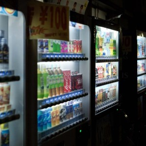 Tokyo - Vending Machine with Drinks