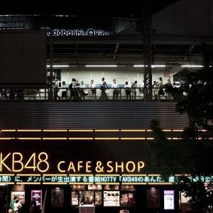 Tokyo - People waiting at Akihabara Railway Station