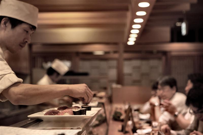 Tokyo - Sushi Restaurant