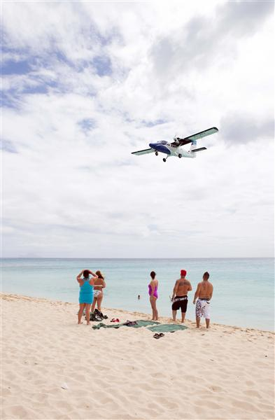 Plane spotters busy with small fish
