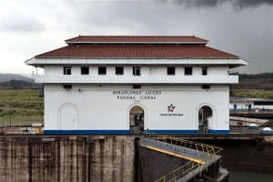 Miraflores Locks in Panama