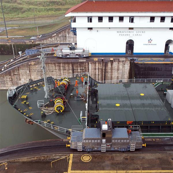 Crew on vessel