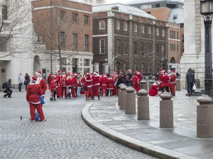 SantaCon Pub Crawlers
