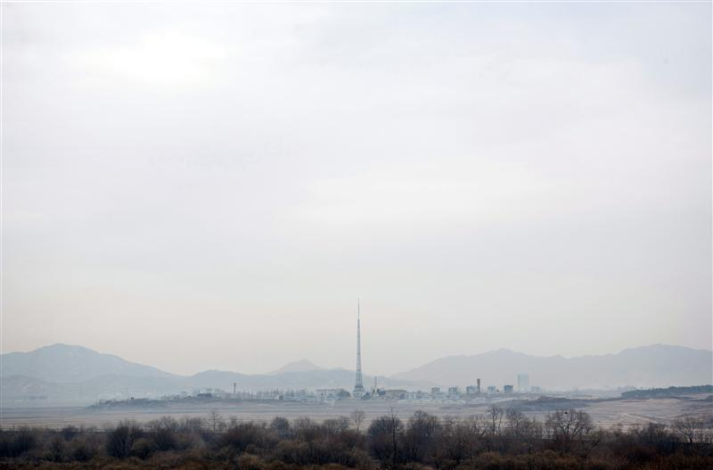 JSA - Propaganda Village Kijŏng-dong (http://en.wikipedia.org/wiki/Kijong-dong)