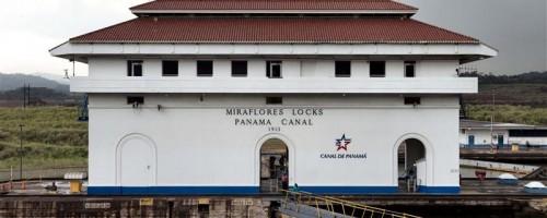 Miraflores Locks in Panama